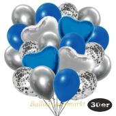 luftballons-30er-pack-9-silber-konfetti-und-9-metallic-royalblau-8-chrome-silber-2-folienballons-silber-2-folienballons-blau