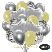 luftballons-30er-pack-9-silber-konfetti-und-9-metallic-pastellgelb-8-chrome-silber-4-folienballons-silber