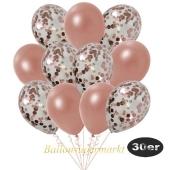 luftballons-30er-pack-10-roségold-konfetti-und-10-metallic-roségold