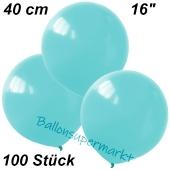 Luftballons 40 cm, Babyblau, 100 Stück
