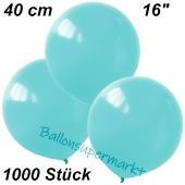 Luftballons 40 cm, Babyblau, 1000 Stück