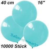 Luftballons 40 cm, Babyblau, 10000 Stück