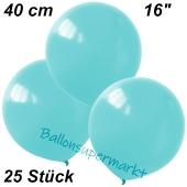 Luftballons 40 cm, Babyblau, 25 Stück