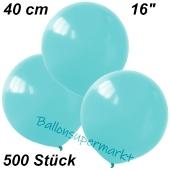 Luftballons 40 cm, Babyblau, 500 Stück