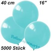 Luftballons 40 cm, Babyblau, 5000 Stück