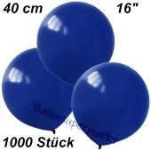 Luftballons 40 cm, Dunkelblau, 1000 Stück