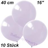 Luftballons 40 cm, Flieder, 10 Stück