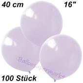 Luftballons 40 cm, Flieder, 100 Stück