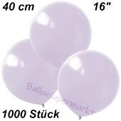 Luftballons 40 cm, Flieder, 1000 Stück