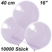 Luftballons 40 cm, Flieder, 10000 Stück