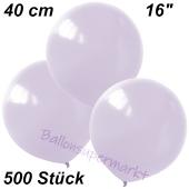 Luftballons 40 cm, Flieder, 500 Stück