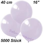 Luftballons 40 cm, Flieder, 5000 Stück