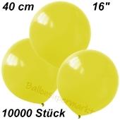 Luftballons 40 cm, Gelb, 10000 Stück