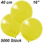 Luftballons 40 cm, Gelb, 5000 Stück