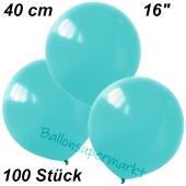 Luftballons 40 cm, Hellblau, 100 Stück
