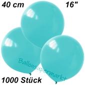 Luftballons 40 cm, Hellblau, 1000 Stück