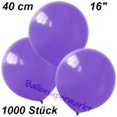 Luftballons 40 cm, Lavendel, 1000 Stück