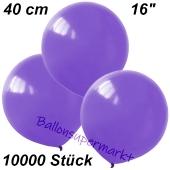 Luftballons 40 cm, Lavendel, 10000 Stück