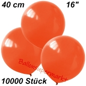 Luftballons 40 cm, Orange, 10000 Stück