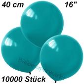 Luftballons 40 cm, Türkis, 10000 Stück