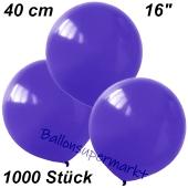 Luftballons 40 cm, Violett, 1000 Stück