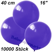 Luftballons 40 cm, Violett, 10000 Stück