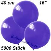 Luftballons 40 cm, Violett, 5000 Stück