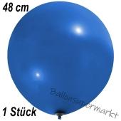 Großer Luftballon, 48-51 cm, Blau