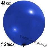 Großer Luftballon, 48-51 cm, Dunkelblau