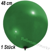 Großer Luftballon, 48-51 cm, Dunkelgrün