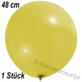 Großer Luftballon, 48-51 cm, Gelb