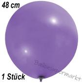 Großer Luftballon, 48-51 cm, Lavendel