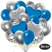 luftballons-50er-pack-14-silber-konfetti-und-15-metallic-blau-15-chrome-silber-3-folienballons-blau-und-3-folienballons-silber