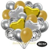 luftballons-50er-pack-14-silber-konfetti-und-15-metallic-gold-15-chrome-silber-3-folienballons-gold-und-3-folienballons-silber