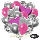 luftballons-50er-pack-14-silber-konfetti-und-15-metallic-pink-15-chrome-silber-3-folienballons-pink-und-3-folienballons-silber