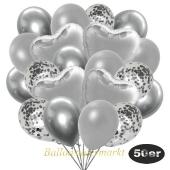 luftballons-50er-pack-14-silber-konfetti-und-15-metallic-silber-15-chrome-silber-und-6-folienballons-silber