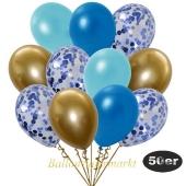luftballons-50er-pack-15-blau-konfetti-und-11-metallic-hellblau-12-metallic-blau-12-chrome-gold