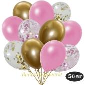 luftballons-50er-pack-8-gold-7-rosa-konfetti-und-18-metallic-rose-17-chrome-gold