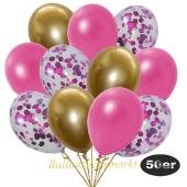 luftballons-50er-pack-15-pink-konfetti-und-18-metallic-pink-17-chrome-gold