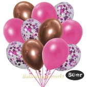 luftballons-50er-pack-15-pink-konfetti-und-18-metallic-pink-17-chrome-kupfer