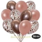 luftballons-50er-pack-15-rosegold-konfetti-und-18-metallic-rosegold-17-chrome-rosegold