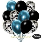 luftballons-50er-pack-15-schwarz-konfetti-und-18-metallic-schwarz-17-chrome-blau