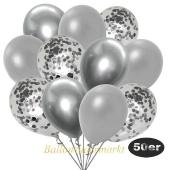 luftballons-50er-pack-15-silber-konfetti-und-18-metallic-silber-17-chrome-silber