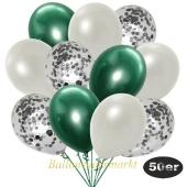 luftballons-50er-pack-15-silber-konfetti-und-18-metallic-weiß-17-chrome-gruen