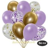 luftballons-50er-pack-8-flieder-7-gold-konfetti-und-18-metallic-lila-17-chrome-gold