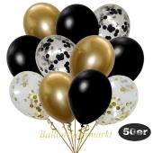 luftballons-50er-pack-8-schwarz-7-gold-konfetti-und-18-metallic-schwarz-17-chrome-gold