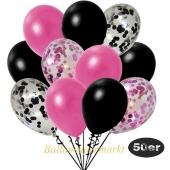 luftballons-50er-pack-8-pink-konfetti-7-schwarz-konfetti-und-18-metallic-pink-17-metallic-schwarz