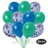 luftballons-50er-pack-15-blau-konfetti-und-18-metallic-blau-17-metallic-tuerkisgruen