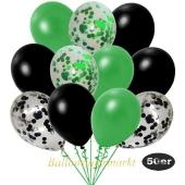 luftballons-50er-pack-8-gruen-konfetti-7-schwarz-konfetti-und-18-metallic-gruen-17-metallic-schwarz
