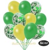 luftballons-50er-pack-15-gruen-konfetti-und-18-metallic-gelb-17-metallic-gruen